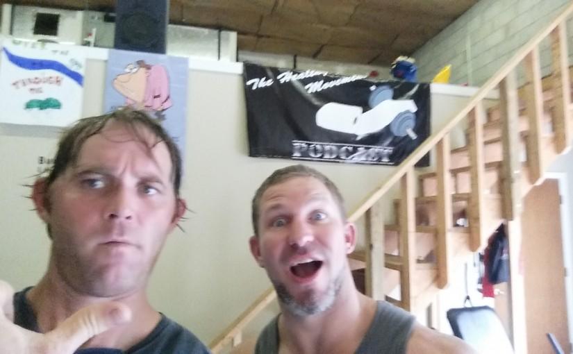 Hanging w/Coach Matt Wichlinski in the Healthy Movement studio