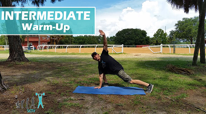 Moderate Equestrian Athlete Warm Up Routine